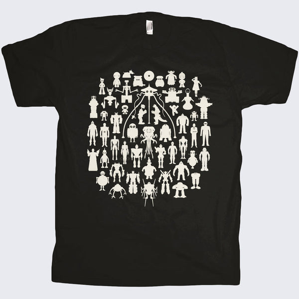 Chop Shop - Robots T-shirt (Black)