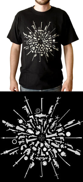 Chop Shop : Weapons T-shirt