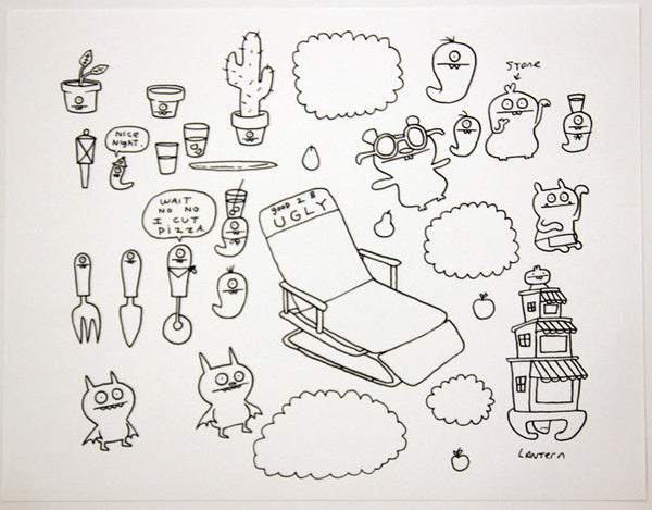David Horvath - Drawing - #D18