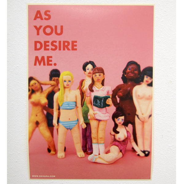Yukinori Dehara - Women's Body in L.A. Poster (As You Desire Me)