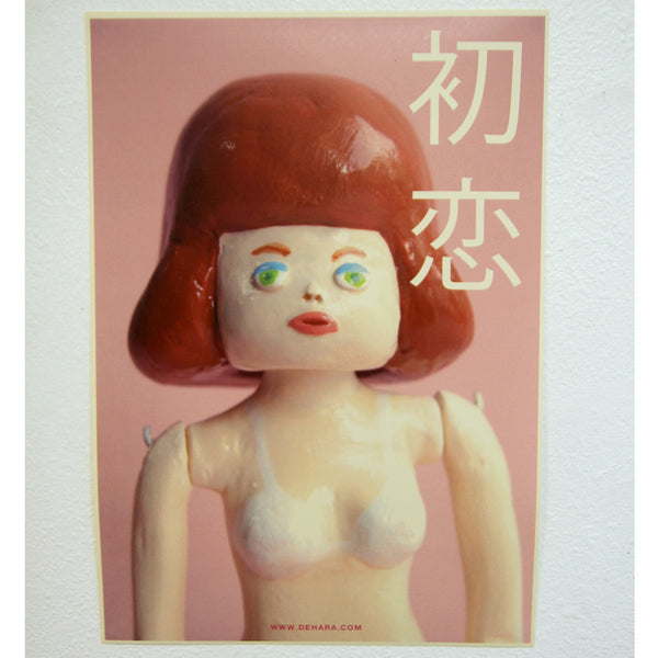 Yukinori Dehara - Women's Body in L.A. Poster (Red Hair Masako)