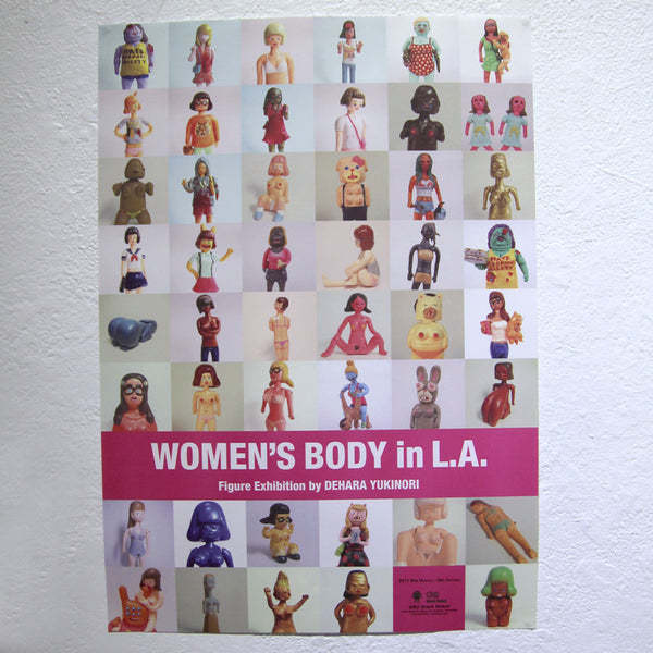 Yukinori Dehara - Women's Body in L.A. Zine Pack