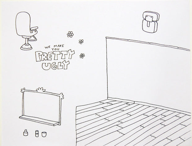 David Horvath - Drawing - #D17a
