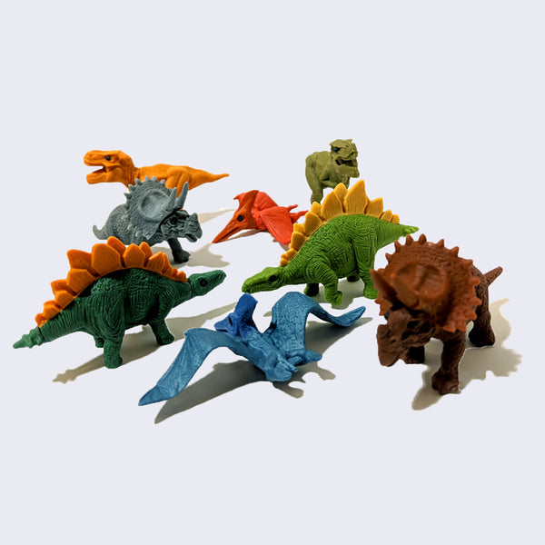 Iwako Eraser Collection - Dinosaur