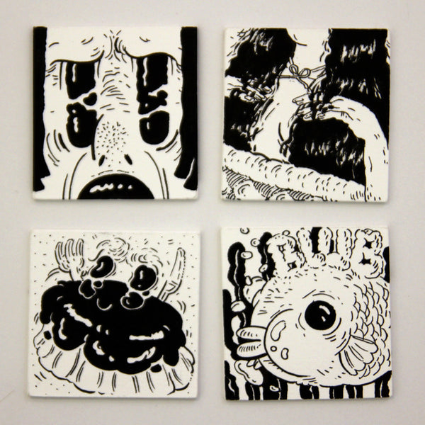 Stacy Tan - Mini Drawings (Set 1)