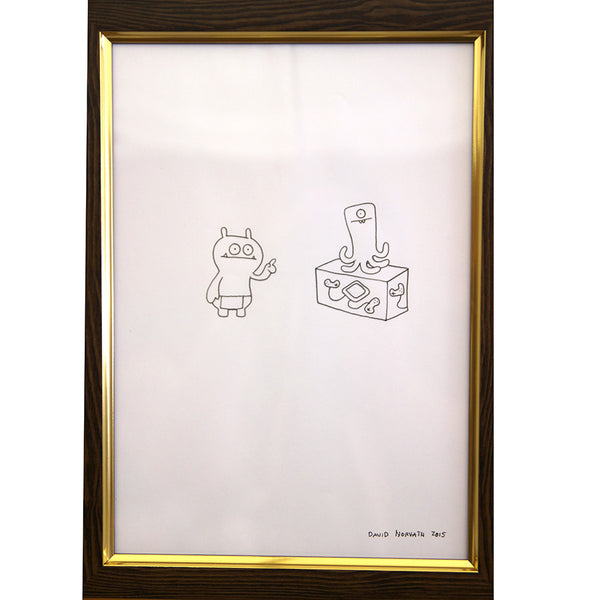 David Horvath - Untitled Original Drawing & Print - # GR1 - 4