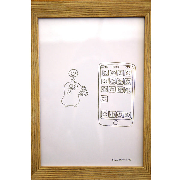 David Horvath - Untitled Original Drawing & Print - # GR1 - 5