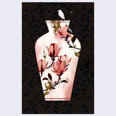 "Wistful Dreams Porcelain Memories - Maggie Chiang: ""Magnolia"" - #08"