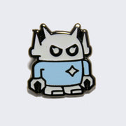 Giant Robot - Baby Boss Robot Enamel Pin (Glow-in-the-Dark)