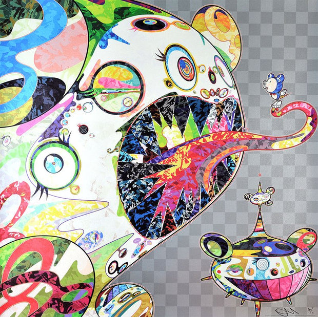 Takashi Murakami - Homage to Francis Bacon (Study of George Dyer)