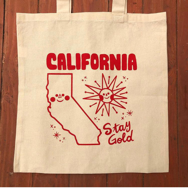 Erick Martinez - Monsters & Madness - California Stay Gold Tote