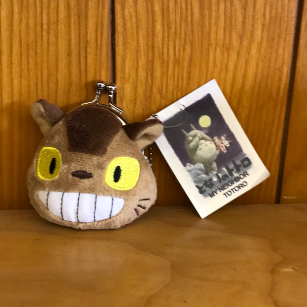 "Totoro Cat Bus 3"" Coin Purse"