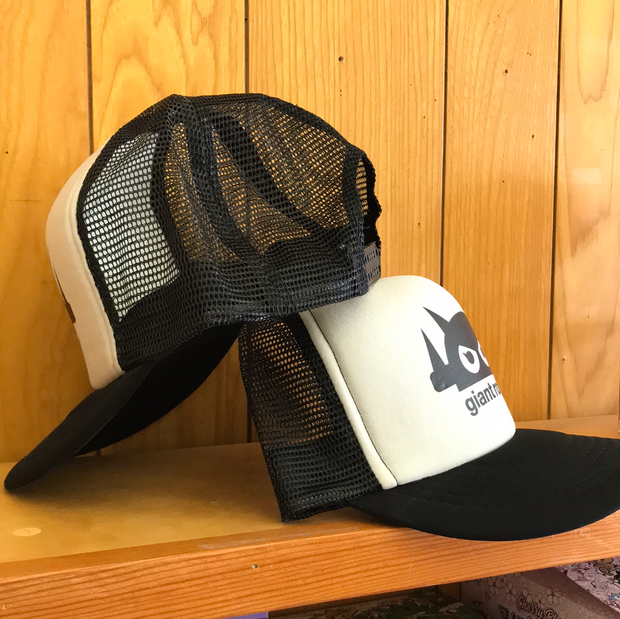 Giant Robot - Mesh Hat (Black & Light Grey)