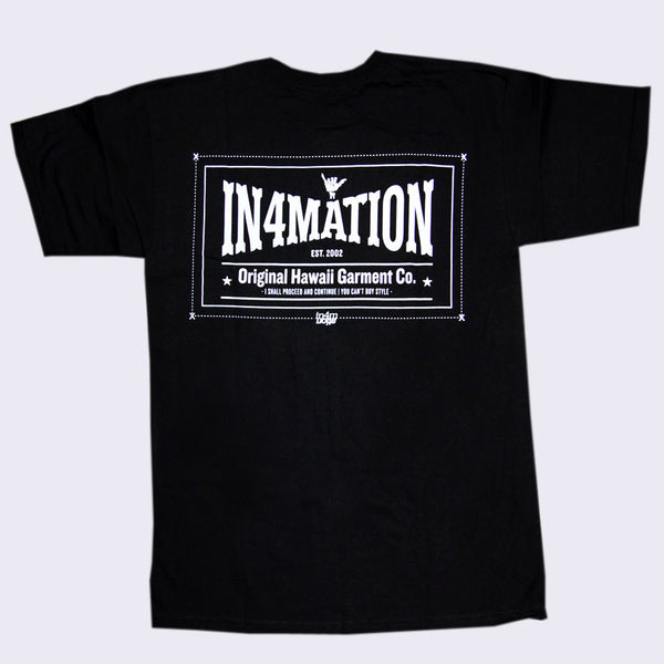 In4mation - Original Hawaii Garment Co. T-shirt
