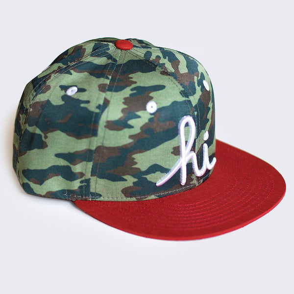 In4mation - Hi Hat (Camo / Red-Orange)