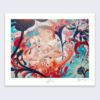 James Jean - Forager III - Print