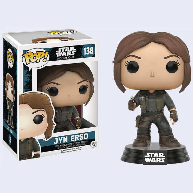 Funko x Star Wars - Jyn Erso Vinyl Pop! Figure
