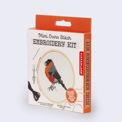 Mini Cross Stitch Embroidery Kit (Bird)
