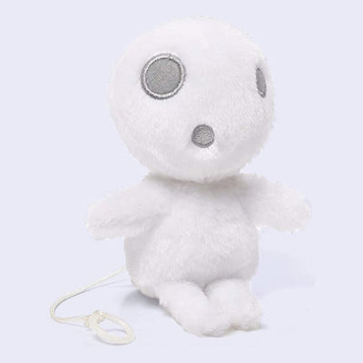 "Princess Mononoke - Kodama 4"" Zip Along Plush"