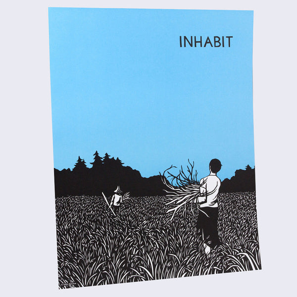 Nikki McClure Poster - Inhabit