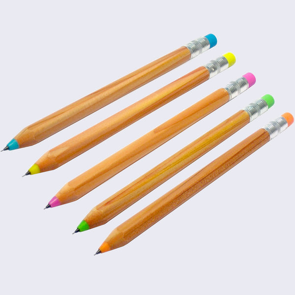 Wood Mechanical Pencil - Assorted