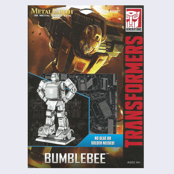 Transformers - Metal Earth 3D Model Kit (Bumblebee)