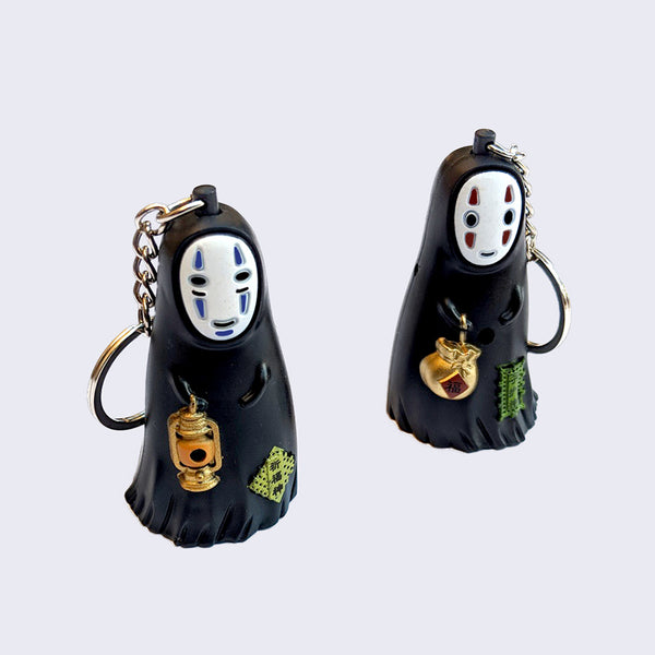 No Face LED Keychain