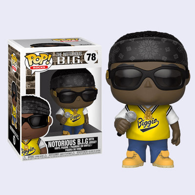Funko - Notorious B.I.G. (Jersey) Vinyl Pop! Figure