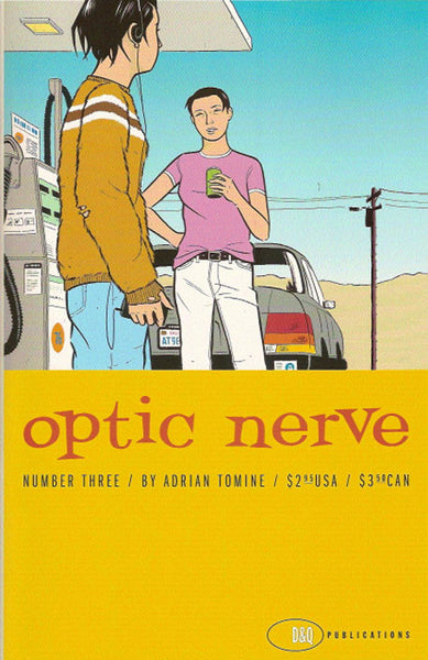 Adrian Tomine - Optic Nerve #03