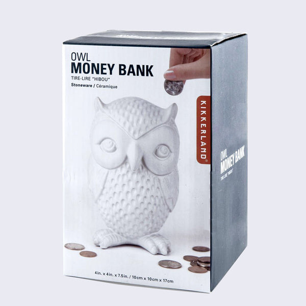 Kikkerland - Owl Money Bank