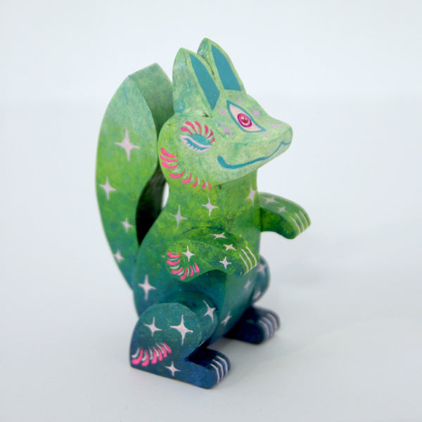 Candie Bolton - Sleepy Fortune Fox - Green - #32