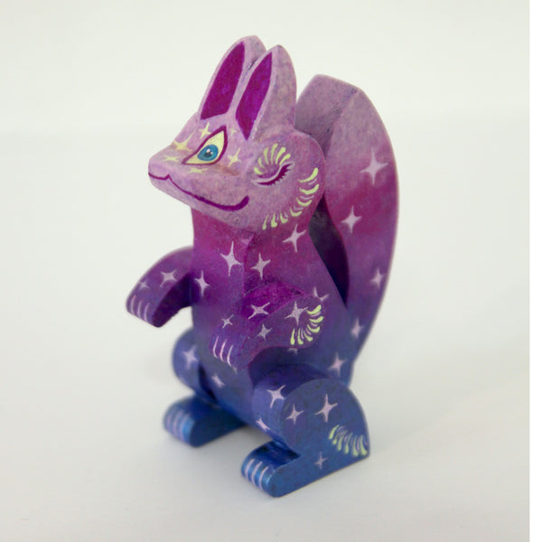 Candie Bolton - Sleepy Fortune Fox - Purple - #34
