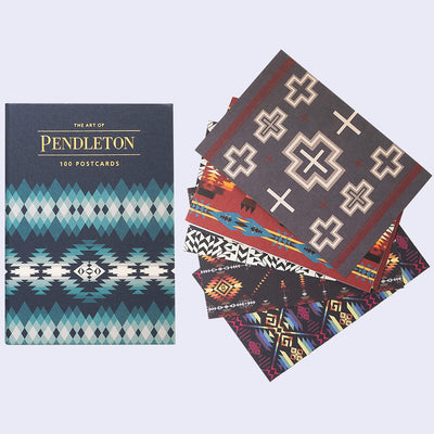 The Art of Pendleton - 100 Collectible Postcards