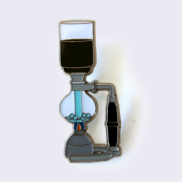 Giant Robot - Siphon Coffee Enamel Pin
