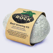 Plants Rock! -  Basil Planter with Seeds and Peat