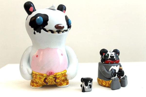 Podgy Panda - Painting My Bro a Shade of Panda - Remix Figure