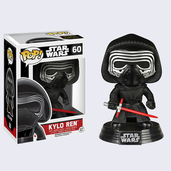 Funko x Star Wars - Pop! Kylo Ren Bobble-Head Vinyl Figure