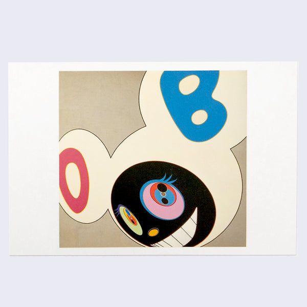 Takashi Murakami - And Then (Platinum) Postcard