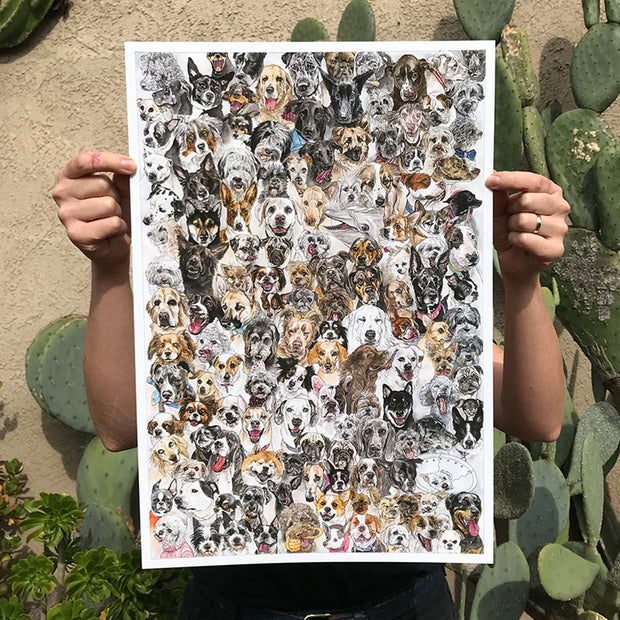Kozyndan - Year of the Dog Print