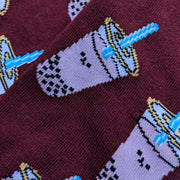 Giant Robot - Taro Tea Boba Socks