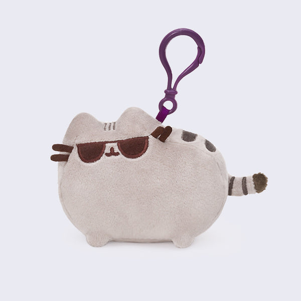 Pusheen Small Sunglasses Plush Clip-On