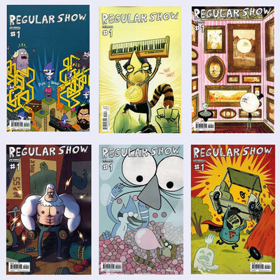 Regular Show #1 - Single Issue or Boxed Comic Set