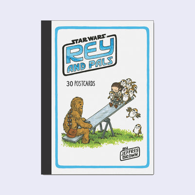 Jeffrey Brown - Star Wars: Rey and Pals 30 Postcard Set