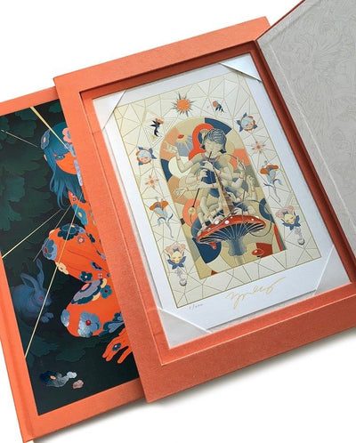 James Jean - Azimuth Vapor DELUXE Monograph with Slipcase and Print Edition 200