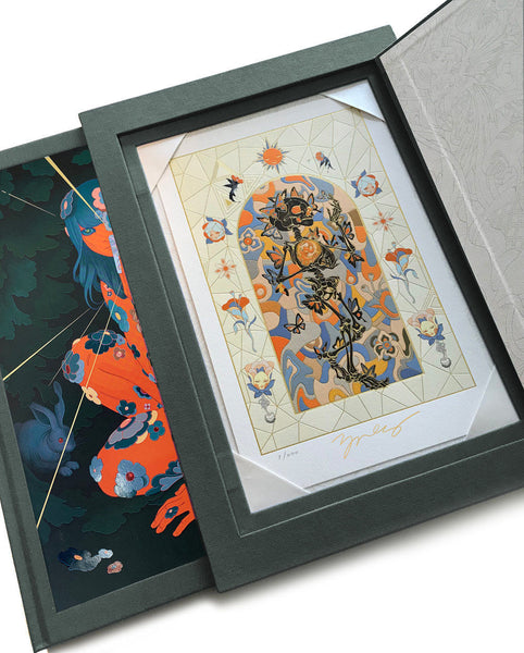James Jean - Azimuth Immortal DELUXE Monograph with Slipcase and Print Edition 200