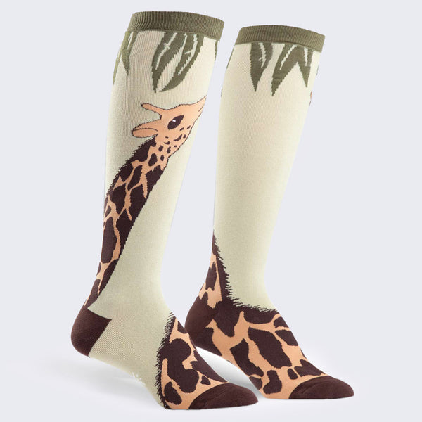 Giraffe Socks (Knee High - Womens)