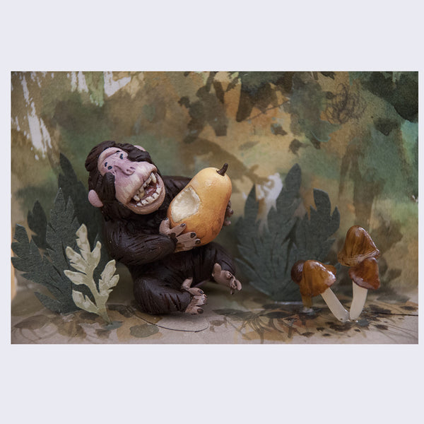 Sean Chao - A Happy Monkey - #24