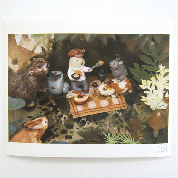 Sean Chao - Picnic Friends Print