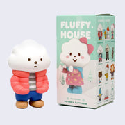 Fluffy House - Mr. White Cloud Mini Series 2 - Winter Edition Figure