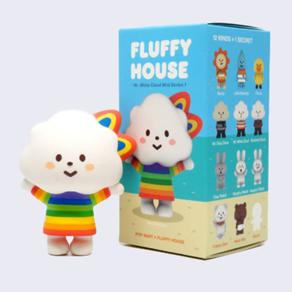 Fluffy House - Mr. White Cloud Mini Series 1